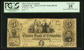 Obsoletes By State:Ohio, Columbus, OH- The Clinton Bank of Columbus $5 Oct. 1, 1852 Wolka0855-09. ...