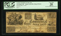 Obsoletes By State:Ohio, Cleveland, OH- The Commercial Bank of Lake Erie $100 May 4, 1837G58 Wolka 0720-36. ...