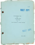 "Movie/TV Memorabilia:Documents, A Script from ""Red-Headed Woman.""..."