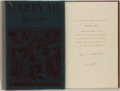 Books:Literature 1900-up, John Updike. SIGNED/INSCRIBED. Marry Me. New York: Knopf, 1976. First trade edition, one of 300 numbered copies si...