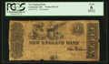 Obsoletes By State:Ohio, Cincinnati, OH- The New England Bank $50 (Faded Date) Wolka0573-01. ...