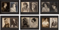 Movie/TV Memorabilia:Photos, A Large Collection of Silent-Era Black and White Headshots, Circa1925....