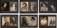 A Large Collection of Silent-Era Black and White Headshots, Circa 1925