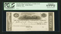 Obsoletes By State:Ohio, Pittsgrove, OH- The Manufacturing and Exporting Company of YellowCreek $5 Wolka 2218-02 Proof. ...