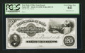Obsoletes By State:Ohio, Xenia, OH- The State Bank of Ohio, Xenia Branch $20 G1698 Wolka2893-38 Proof. ...