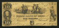 Obsoletes By State:Ohio, Portsmouth, OH- The State Bank of Ohio, Portsmouth BranchCounterfeit $10 Nov. 1, 1849 C1172 Wolka 2272-28. ...