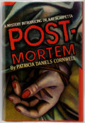 "Books:Mystery & Detective Fiction, Patricia Daniels Cornwell. Post-Mortem. New York""Scribner's. [1990]. First edition, first printing. This is thefir..."