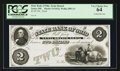 Obsoletes By State:Ohio, Xenia, OH- The State Bank of Ohio, Xenia Branch $2 G1622 Wolka2893-11 Proof. ...