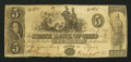 "Obsoletes By State:Ohio, Piqua, OH- The State Bank of Ohio, ""Miami County Branch""Counterfeit $5 May 7, 1847 Wolka UNL. ..."