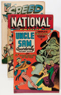 Golden Age (1938-1955):War, Golden Age War Related Comics Group (Various Publishers, 1940s-50s)Condition: Average VG.... (Total: 14 Comic Books)