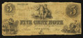 Obsoletes By State:Ohio, Unknown, OH- Unknown Issuer 5¢ Mar. 17, 1853 Wolka Unlisted. ...