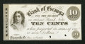 Obsoletes By State:Ohio, Painesville, OH- G. R. Cowles, Bank of Geauga 10¢ Nov. 15, 1862Wolka 2156-02 Specimen. ...