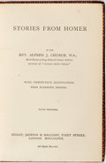 Books:Literature Pre-1900, John Flaxman, illustrator. Rev. Alfred J. Church. Stories from Homer. With 24 marvelous full color illustrations. Lo...