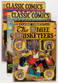 Silver Age (1956-1969):Classics Illustrated, Classic Comics Group (Gilberton, 1940s) Condition: Average VG....(Total: 12 Comic Books)