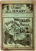 Books:Literature 1900-up, Mulligan's Boarding House, contained in number 57 of TheNew York Comic Library. Frank Tousey: 1884. Story i...