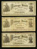 Obsoletes By State:Ohio, Toledo, OH- The Toledo Business College $5; $10; $20 Feb. 13, 1883Wolka Unlisted. ... (Total: 3 notes)