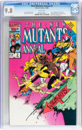 Modern Age (1980-Present):Superhero, New Mutants Annual #2 (Marvel, 1986) CGC NM/MT 9.8 White pages....