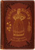 Books:Literature Pre-1900, William Lightfoot Visscher. Black Mammy: A Song of the SunnySouth, and Other Poems. Cheyenne: Bristol & Knabe, 1886...