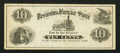 Obsoletes By State:Ohio, (Not Shown), OH- The Vesuvius Furnace Store 10¢ Undated RemainderWolka 2074-02. ...