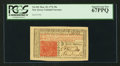 Colonial Notes:New Jersey, New Jersey March 25, 1776 30s PCGS Superb Gem New 67PPQ.. ...