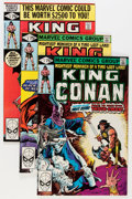 Modern Age (1980-Present):Science Fiction, King Conan #1-52 Near Complete Run Group (Marvel, 1980-89)Condition: Average NM.... (Total: 51 Comic Books)