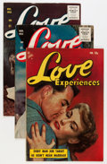 Golden Age (1938-1955):Romance, Love Experiences Group (Ace, 1954-56) Condition: Average FN....(Total: 14 Comic Books)