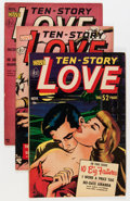 Golden Age (1938-1955):Romance, Ten Story Love Group (Ace, 1951-56) Condition: Average FN/VF....(Total: 16 Comic Books)