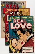 Golden Age (1938-1955):Romance, Real Love Group (Ace Periodicals, 1951-56) Condition: AverageVF-.... (Total: 16 Comic Books)