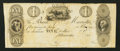 Obsoletes By State:Ohio, Marietta, OH- The Bank of Marietta $1 G16 Wolka 1559-11 Proof. ...