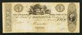 Obsoletes By State:Ohio, Marietta, OH- The Bank of Marietta $5 G46 Wolka 1559-32 Proof. ...