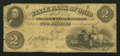 Obsoletes By State:Ohio, Marietta, OH- The State Bank of Ohio, Marietta Branch $2 Mar. 20,1861 (?) G880a (SENC), Wolka 1563-13. ...