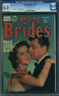 Young Brides #11 (Prize, 1954) CGC FN 6.0 Off-white to white pages