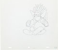 Animation Art:Production Drawing, The Simpsons Krusty the Clown Animation Drawing Original Art(Fox, 1991)....