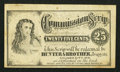Obsoletes By State:Indiana, Columbia City, IN - Hunter & Brother 25¢ Commission Scrip. ...