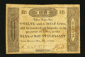Obsoletes By State:Ohio, Mount Pleasant, OH- The Bank of Mount Pleasant 12-1/2¢ July 1, 1816Wolka 1721-02. ...
