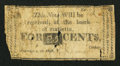 Obsoletes By State:Ohio, Marietta, OH- The Bank of Marietta 25¢ Dec. 5, 1816 G6? Wolka UNL....