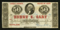Obsoletes By State:Ohio, Napoleon, OH- Henry E. Cary 50¢ Feb. 5, 1863 Wolka 1787-04. ...