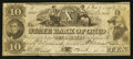 Obsoletes By State:Ohio, Mt. Pleasant, OH- The State Bank of Ohio, Mt. Pleasant BranchCounterfeit $10 June 7, 1849 C978 Wolka 1723-30. ...