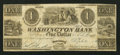Obsoletes By State:Ohio, Miamisburg, OH- The Washington Social Library Company-WashingtonBank $1 Feb. 1, 1840 G2 Wolka 1650-01. ...