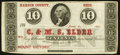 Obsoletes By State:Ohio, Mount Victory, OH- C. & M.S. Elder 10¢ Jan. 31, 1863 RemainderWolka 1767-02. ...