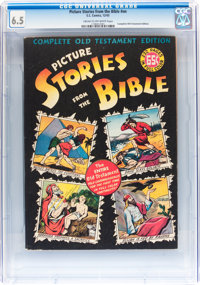 Picture Stories from the Bible Complete Old Testament #nn (EC, 1943) CGC FN+ 6.5 Cream to off-white pages
