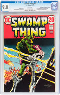 Bronze Age (1970-1979):Horror, Swamp Thing #3 Don/Maggie Thompson Collection pedigree (DC, 1973)CGC NM/MT 9.8 White pages....
