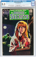 Bronze Age (1970-1979):Horror, House of Secrets #92 (DC, 1971) CGC VF+ 8.5 Cream to off-whitepages....