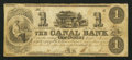 "Obsoletes By State:Ohio, Middletown, OH- William Jonse - ""The Canal Bank"" $1 Mar. 6, 1861Wolka 1657-05. ..."