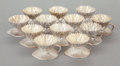 Silver Holloware, American:Open Salts, A SET OF TWELVE MERIDEN BRITANNIA COMPANY SILVER-PLATED EGG CUPS INORIGINAL CASE. Meriden Britannia Company, Meriden, Conne... (Total:12 Items)