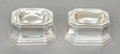 Silver Holloware, American:Open Salts, A PAIR OF ENSKO SILVER OPEN SALTS. Ensko, New York, New York, circa1930. Marks: ENSKO, NEW YORK, Exemplar, Jacob Hurd, BO...(Total: 2 Items)