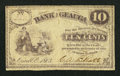 Obsoletes By State:Ohio, Orwell, OH- C.A.B. Pratt, Bank of Geauga 10¢ 1863 Wolka 2144-02....