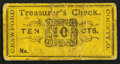 Obsoletes By State:Ohio, (Bucyrus), OH- Treasurer of Crawford County 10¢ Wolka Unlisted. ...