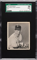 Baseball Cards:Singles (1940-1949), 1948 Bowman Sheldon Jones SP #34 SGC 96 Mint 9 - None Higher!...
