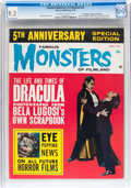 Magazines:Horror, Famous Monsters of Filmland #22 Don/Maggie Thompson Collection pedigree (Warren, 1963) CGC NM- 9.2 Off-white to white pages....